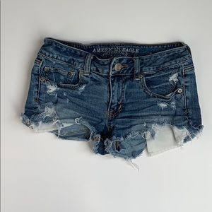 Distressed/ Ripped Jean Shorts